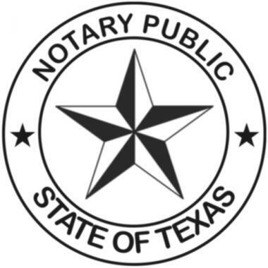 notary public state of texas